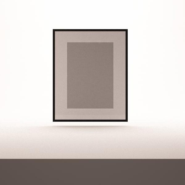 3d c4d modern frame