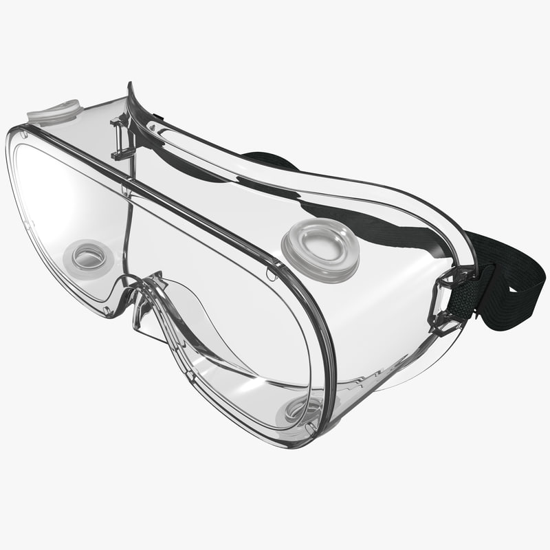 safety goggles 3d 3ds