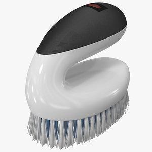 scrub brush oxo 3d max