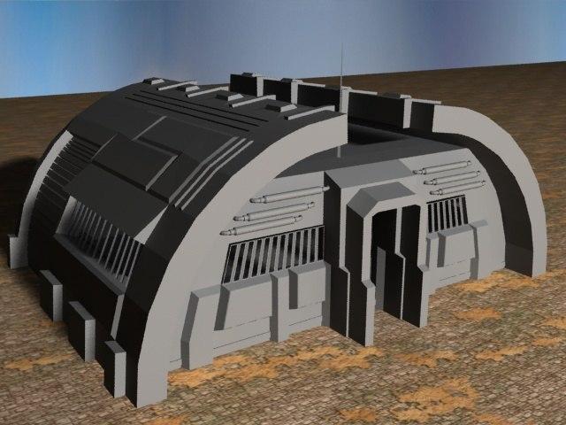 3ds max sci-fi build