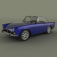 sunbeam tiger 3ds