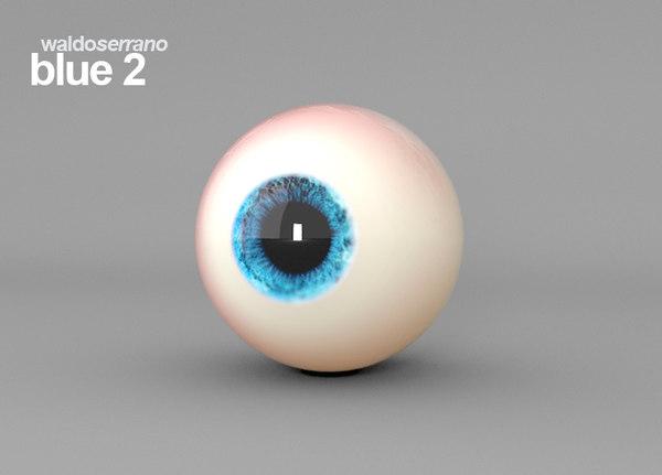 maya eye realistic human characters