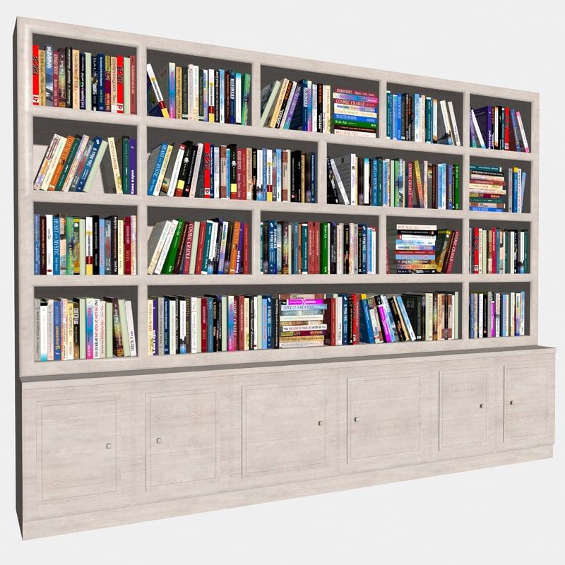 book mc-04 3d model