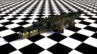 Crocodile Rig MineCraft