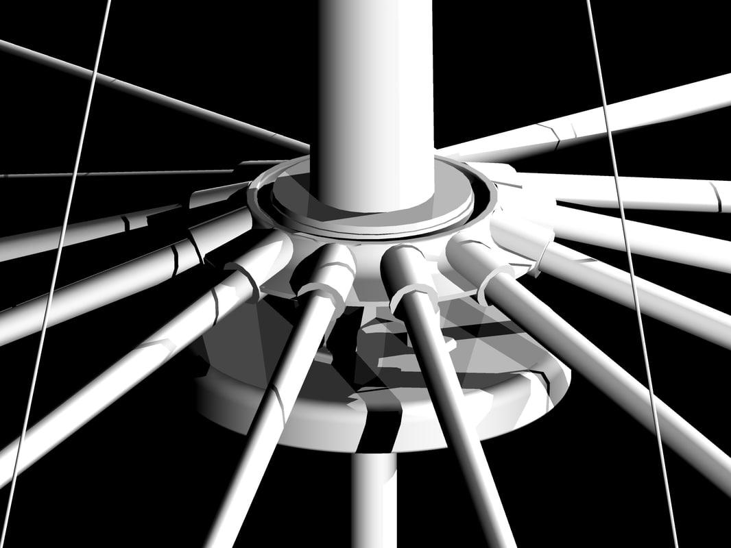 3d model buckminster fuller wichita house