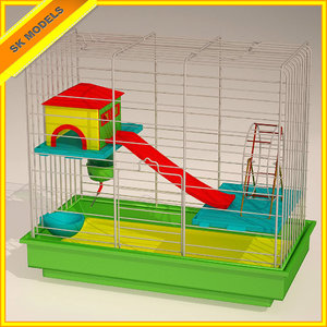 max hamster cage