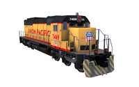 SD 40 Train [Union Pacific]