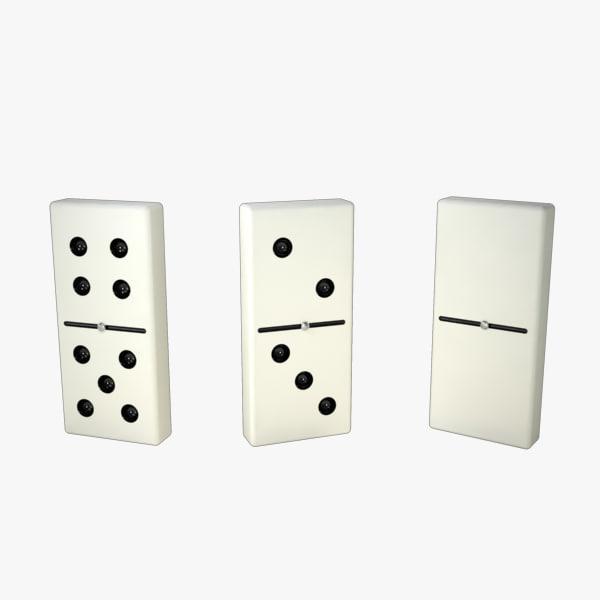 3d dominoes s model