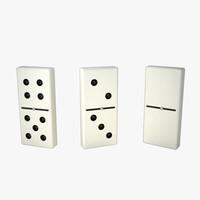 3d dominoes s model