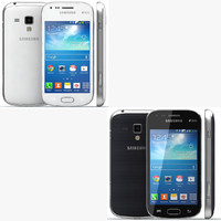 Samsung Galaxy S Duos 2 Black And White