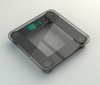 digital scale 3d model