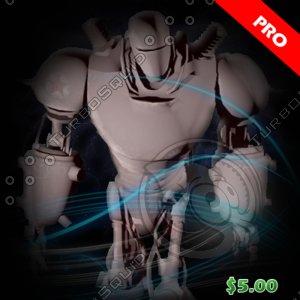 3d robots xl22 model