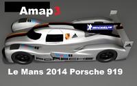 Le Mans Porsche 919 LMP1