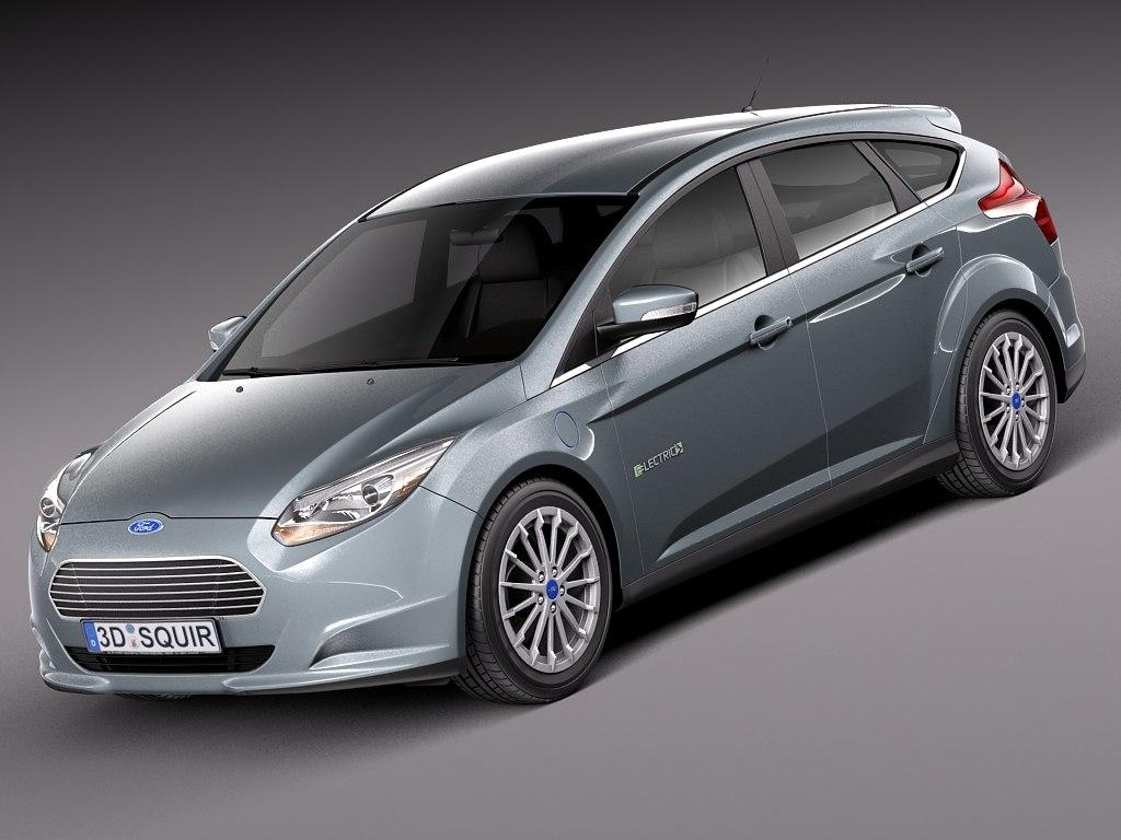2012 2014 electric 3d model