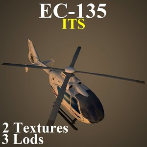 max eurocopter low-poly helicopter