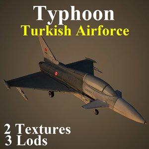 eurofighter typhoon taf max