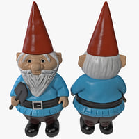 lawn gnome pudgy 3d 3ds