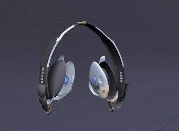 headphones 3d c4d