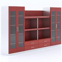3dsmax merx zeus bookcases