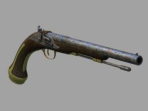 max antique pistol