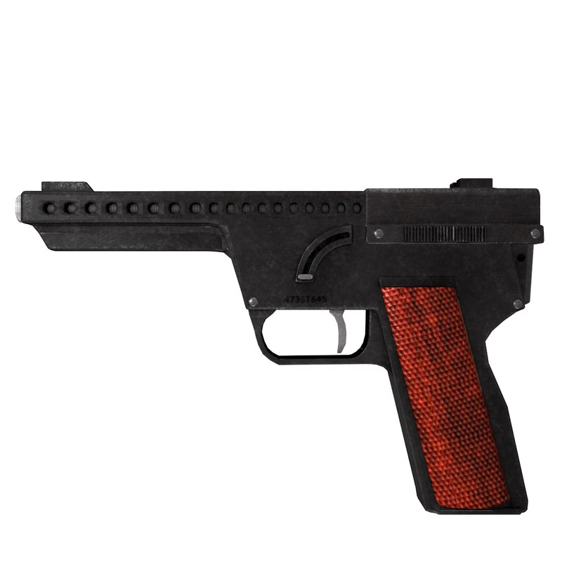 gyrojet pistol 3ds