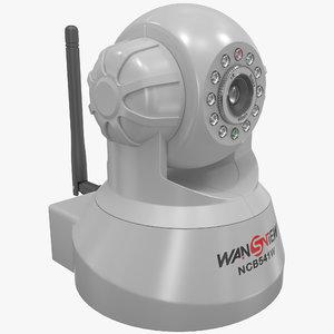 lightwave wireless ip surveillance camera
