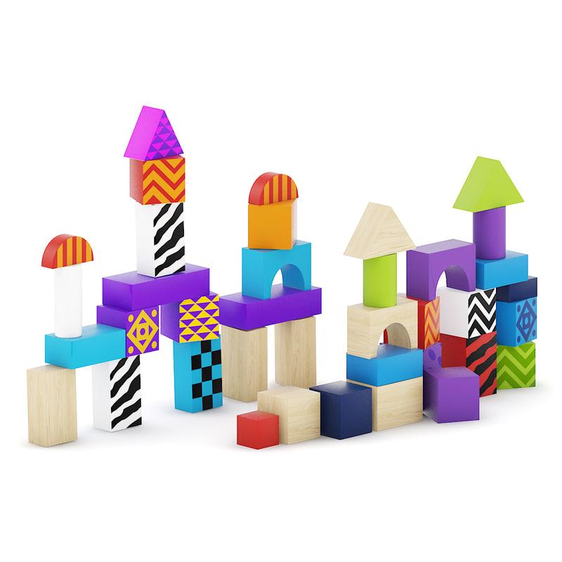 wooden blocks max