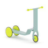 c4d scooter kids