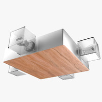 3d model of architectural light