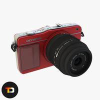 Olympus E-pm 2 Camera 3D model