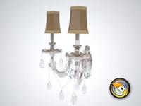 free wall lamp light 3d model