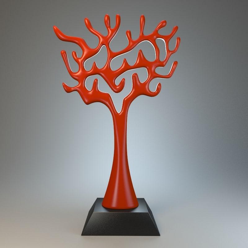 3d model tree sculpture
