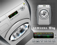 washing machine 10 3d model