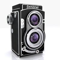 Vintage Flexaret Camera