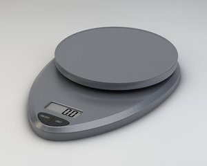 digital kitchen scale 3ds