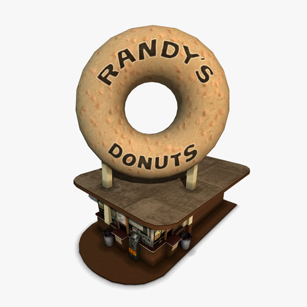 randy s restaurant 3d model