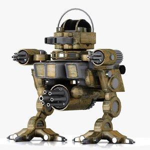 3ds robot fighter fi