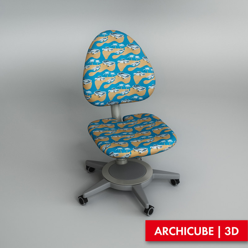 3d chair kid s