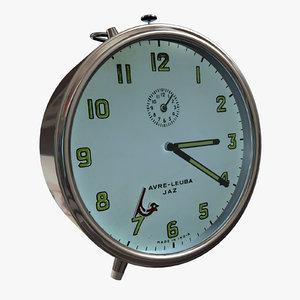 3dsmax bird clock