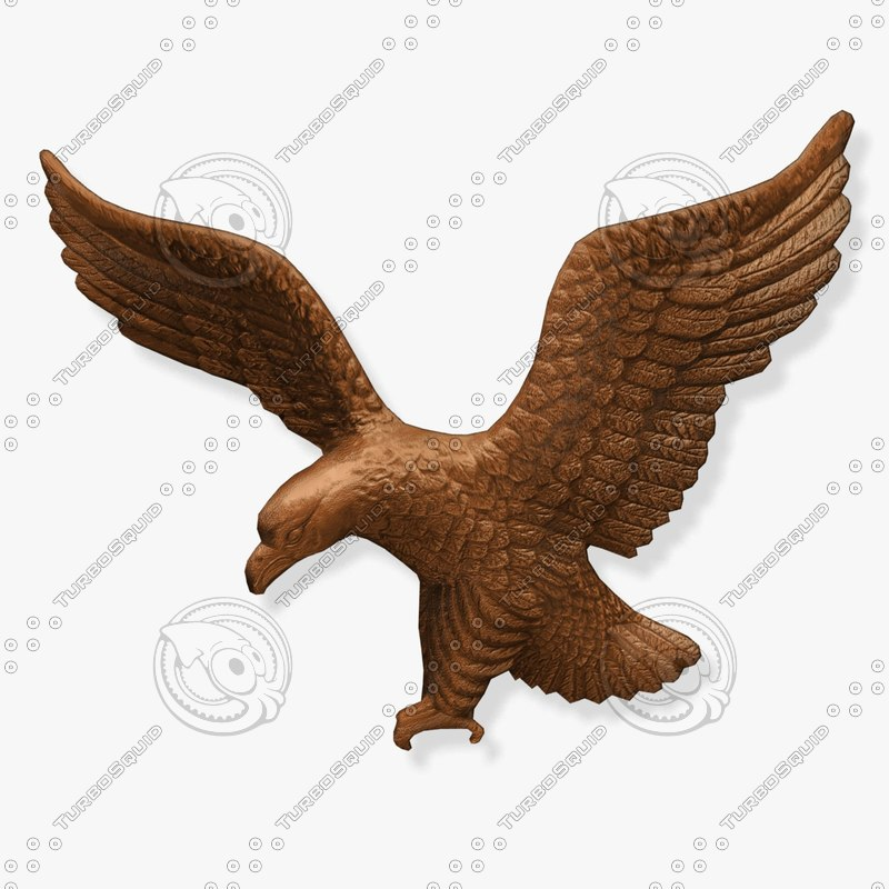 wall eagle fg 3d model