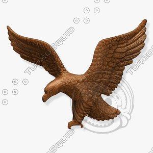 wall eagle fg 3d model