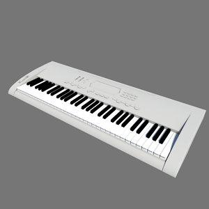 key keyboard 3d model