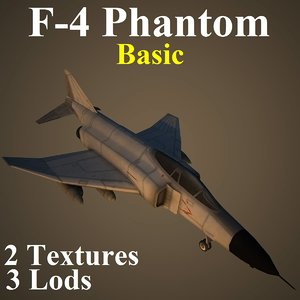 3d model mcdonnell douglas basic fighter aircraft