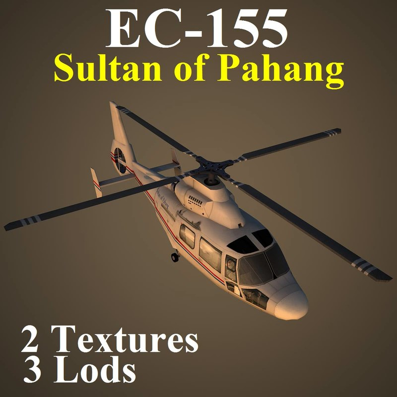 eurocopter pv2 helicopter 3d max