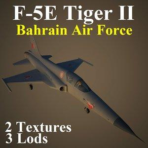 3d northrop bah fighter