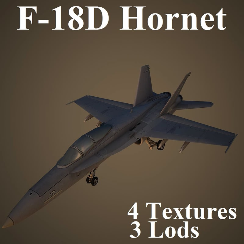 boeing fighter 3d max