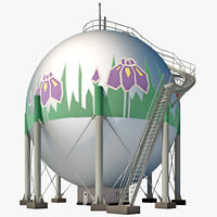 japan gas storage tank max