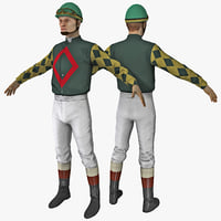 3ds max jockey rigged