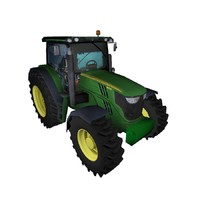 tractor realistic 3ds