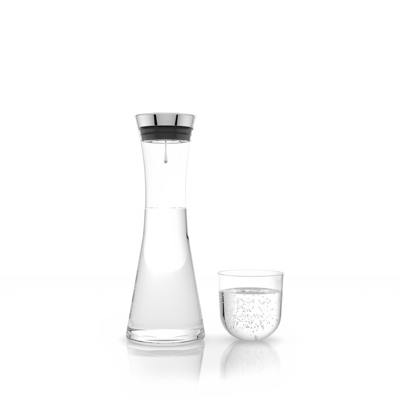 3d max water carafe glass